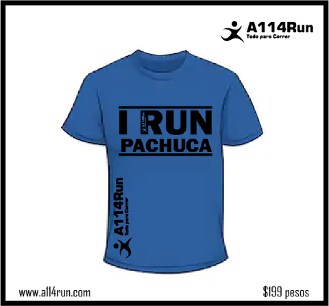 PLAYERA I RUN PACHUCA