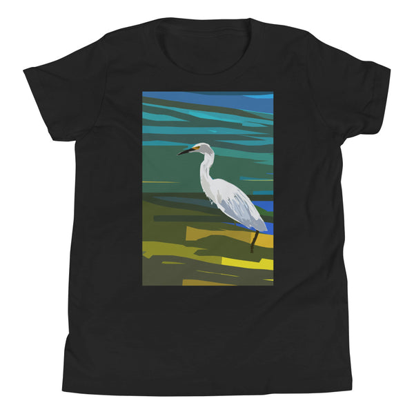 Youth Short Sleeve T-Shirt Evening Lake