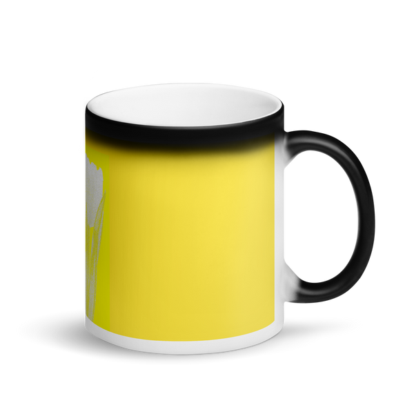 Matte Black Magic Mug Tulip