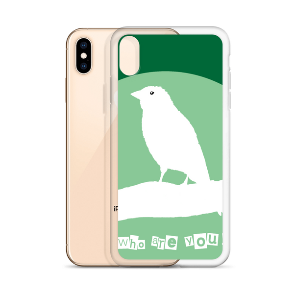 iPhone Case Who are you!