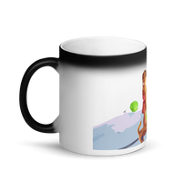 Matte Black Magic Mug The First Tree