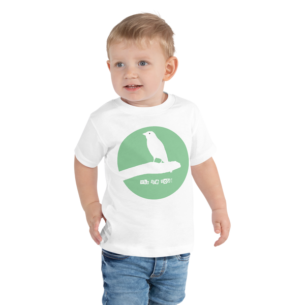 Toddler Short Sleeve Tee Who are you!