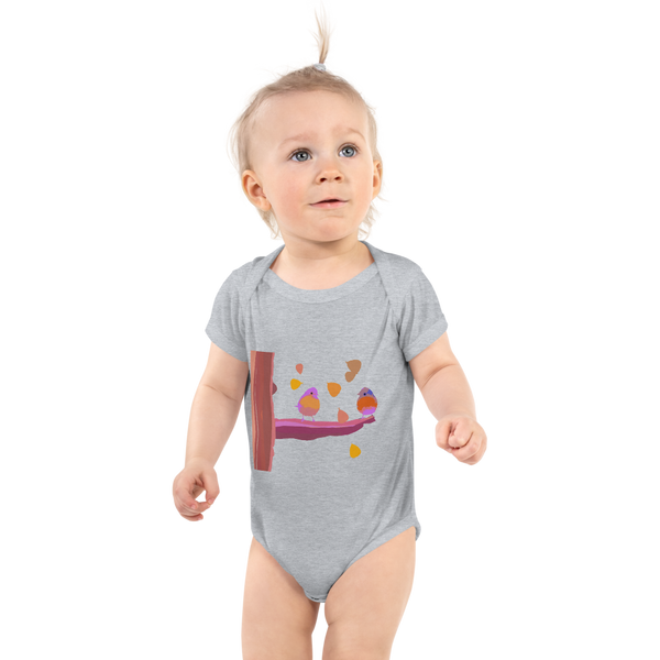 Infant Bodysuit Talking About Spring