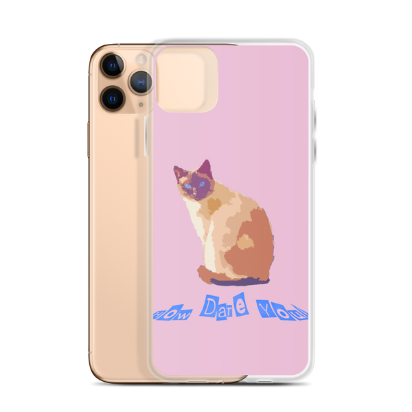 iPhone Case How Dare You