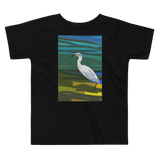 Toddler Short Sleeve Tee Evening Lake
