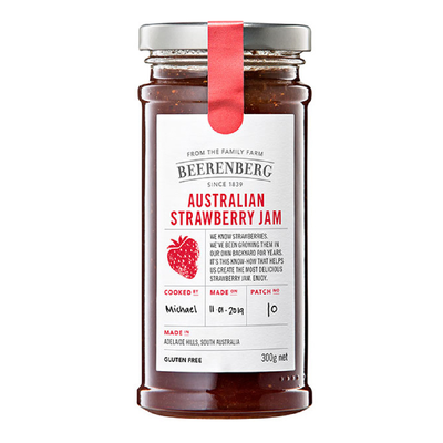 Beerenberg Strawberry Jam 300g
