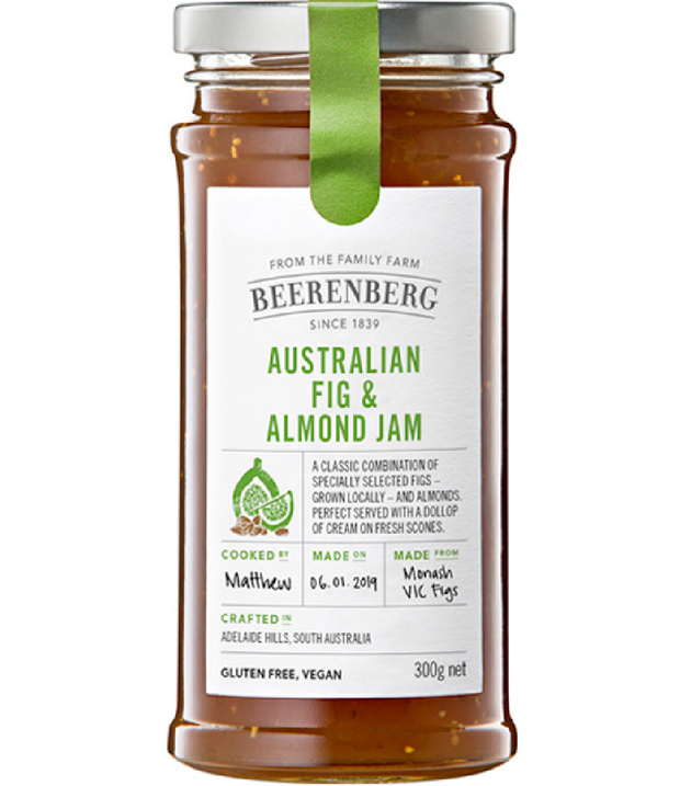 Beerenberg Fig & Almond Jam 300g