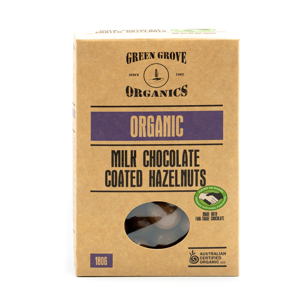Chocolate Coated Hazelnuts 180g