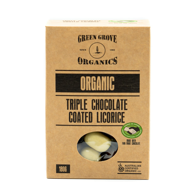 Triple Chocolate Coated Licorice 180g