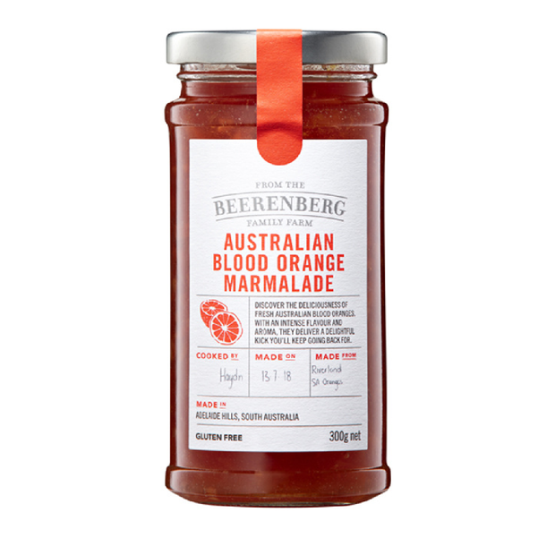 Beerenberg Blood Orange Marmalade 300g