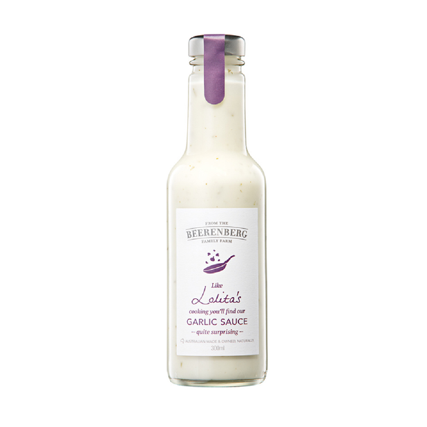 Beerenberg Garlic Sauce 300ml