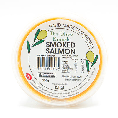 The OB Smoked Salmon Dip 200g