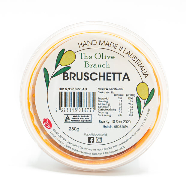 The OB Bruschetta Dip 250g