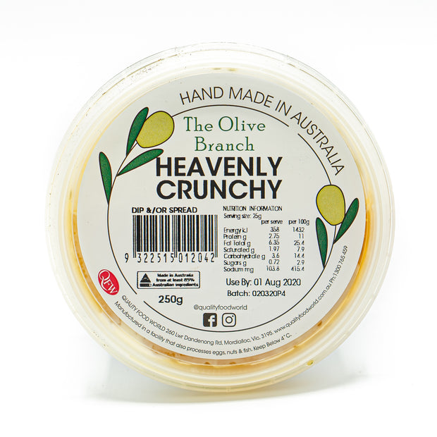 The OB Heavenly Crunchy Dip 250g