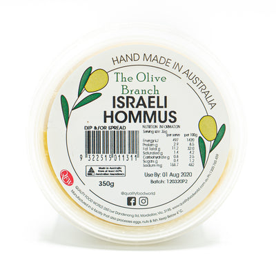 The OB Israeli Hommus 350g