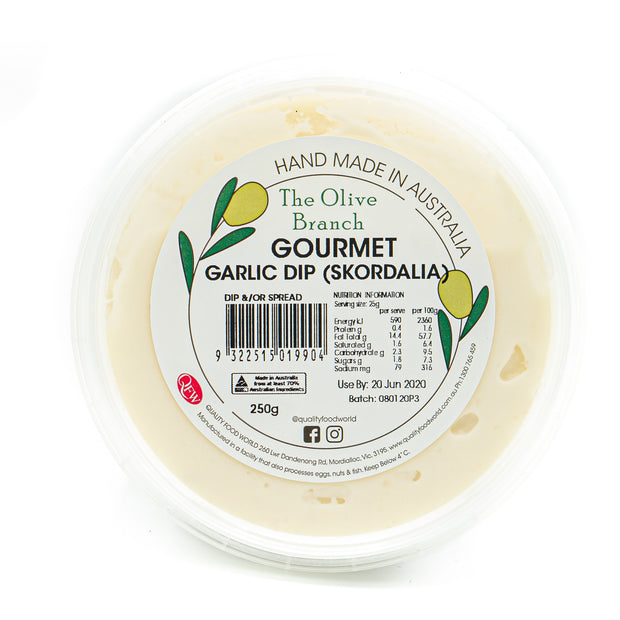 The OB Gourmet Garlic Dip 250g