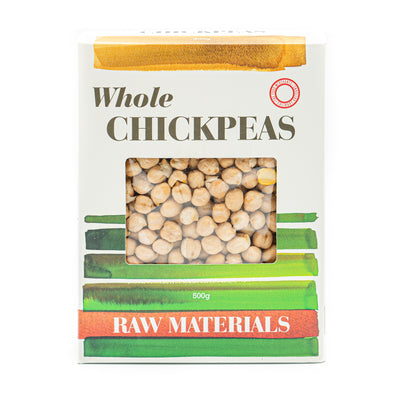 Raw Materials Whole Chickpeas 500g