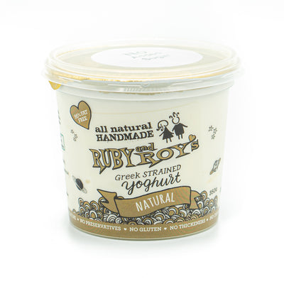 Ruby & Roy's Sugar Free Natural Yoghurt 350g