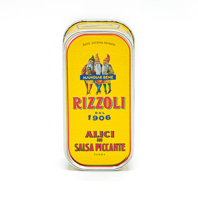 Rizzoli Anchovies in Spicy Sauce 90g