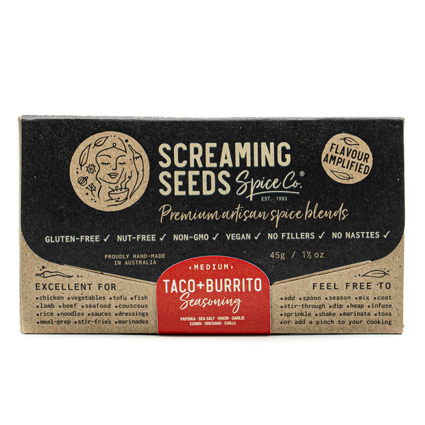 Screaming Seeds Taco Seasoning 45g