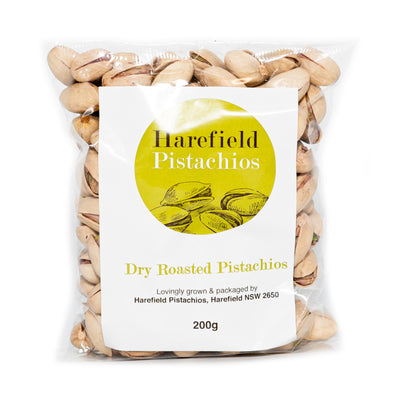 Harefield Dry Roasted Pistachios 200g