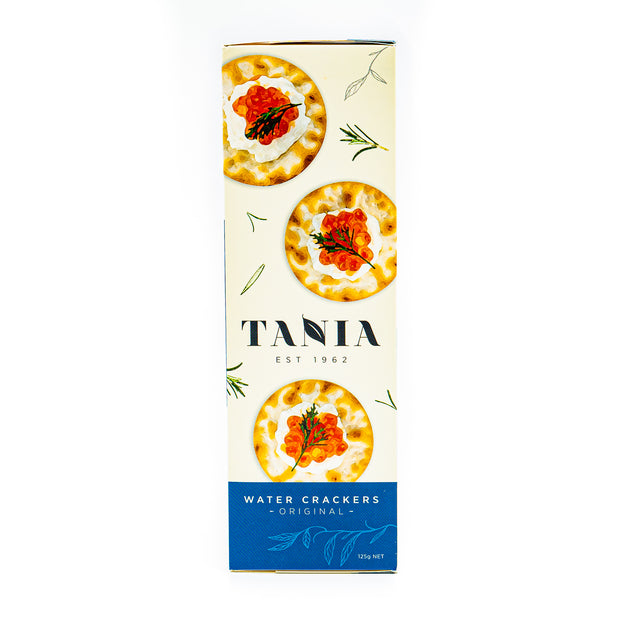 Tania Water Crackers Original 125g