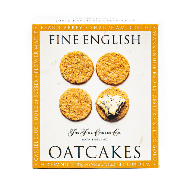 The Fine Cheese Co Fine English Oatcakes 125g