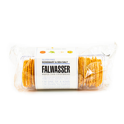 Falwasser Rosemary Sea Salt Wafers (GF) 120g