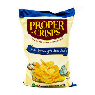 Proper Crisps Sea Salt (V, DF) 150g