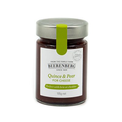 Beerenberg Quince & Pear for cheese 195g
