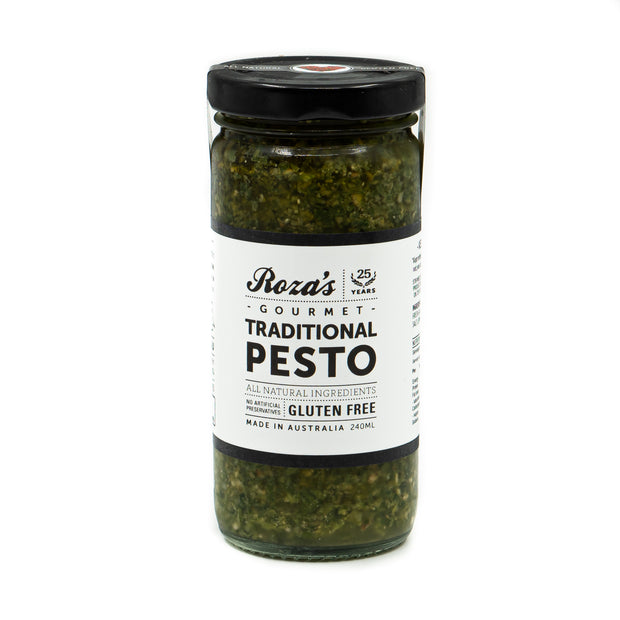 Roza's Gourmet Traditional Pesto (GF) 240ml