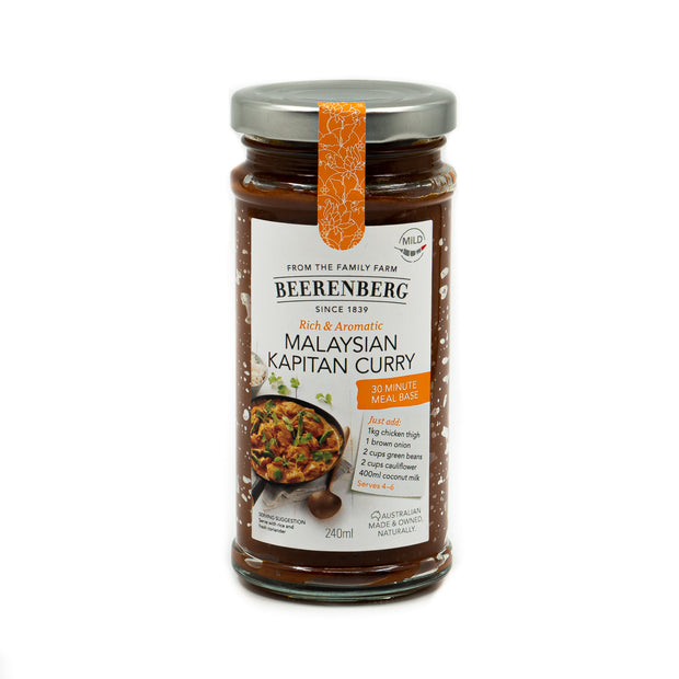 Beerenberg Malaysian Kapitan Curry 240ml