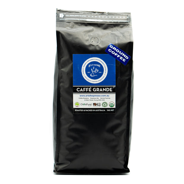 Art of Espresso Caffé Grande Ground Beans 1kg