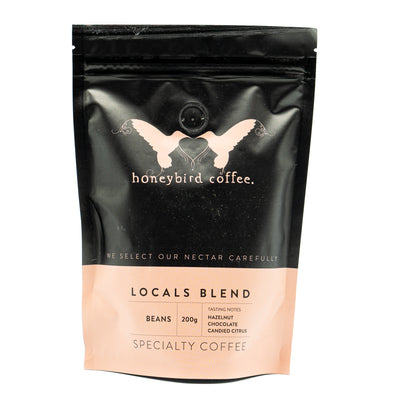 Honeybird Coffee Locals Blend Beans 200g