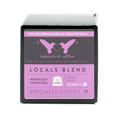 Honeybird Coffee Locals Blend 10 Pods 53g