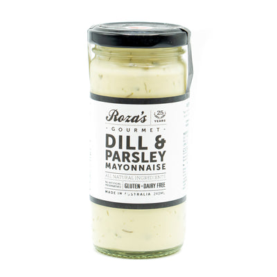 Roza's Dill & Parsley Mayonnaise 240ml