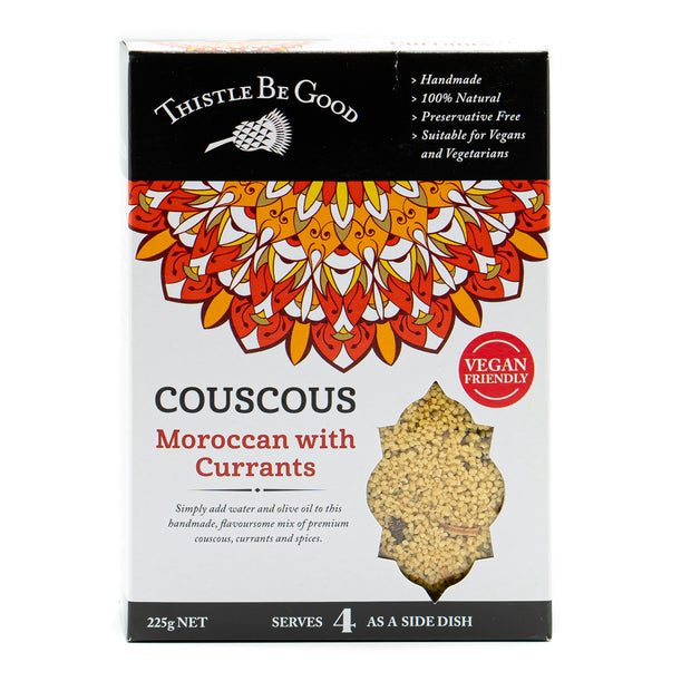 Moroccan with Currants Couscous 225g