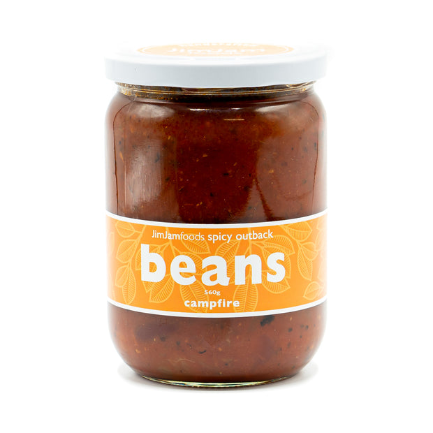 JimJam Spicy Outback Campfire Beans 560g