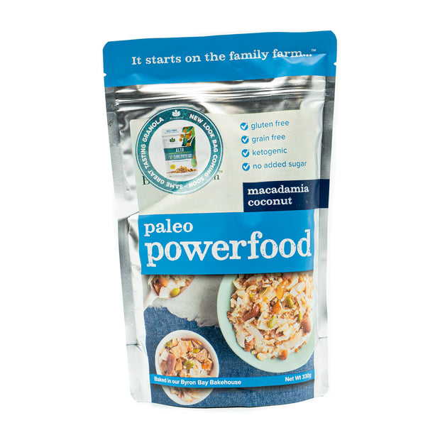 Brookfarm Macadamia Coconut Paleo Powerfood Granola 330g