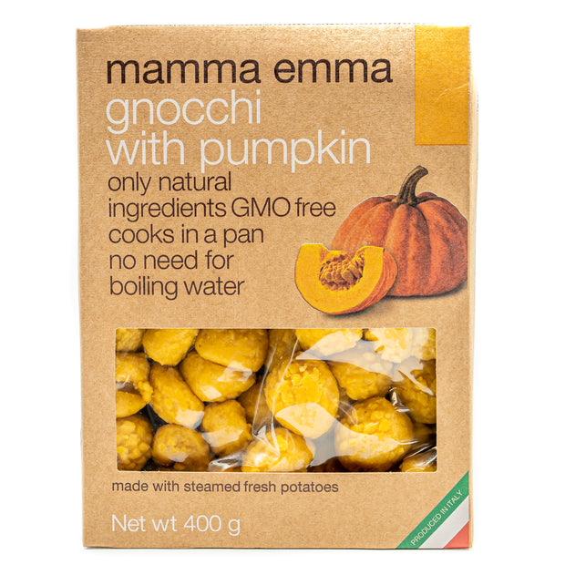Mamma Emma Gnocchi with Pumpkin 400g