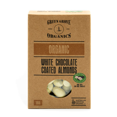 White Chocolate Coated Almonds 180g