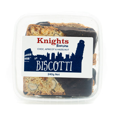 Knights Chocolate, Apricot & Hazelnut Biscotti 240g