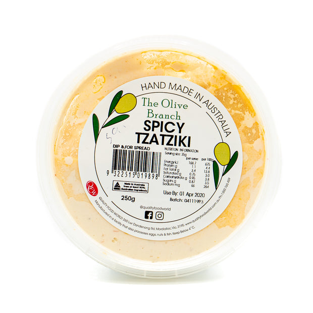 The OB Spicy Tzatziki Dip 250g