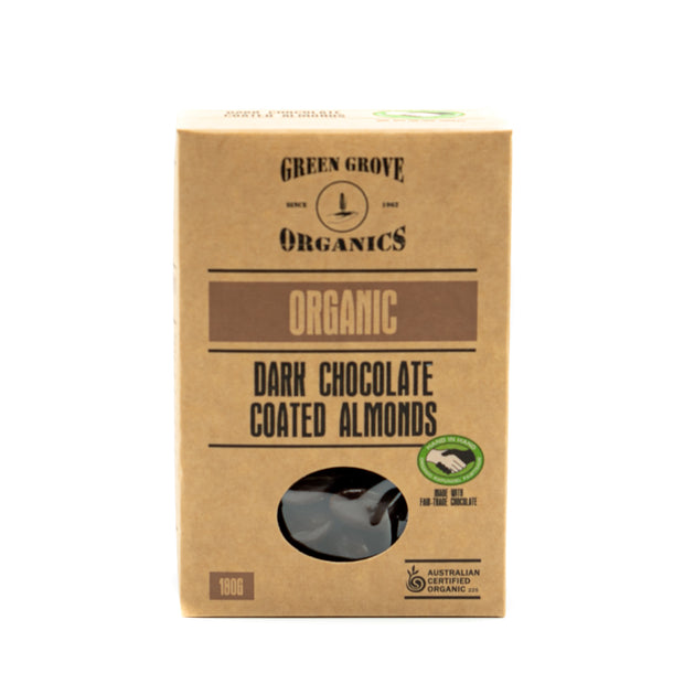 Dark Chocolate Coated Almonds 180g