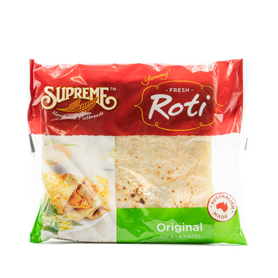Supreme Roti Bread Original 500g