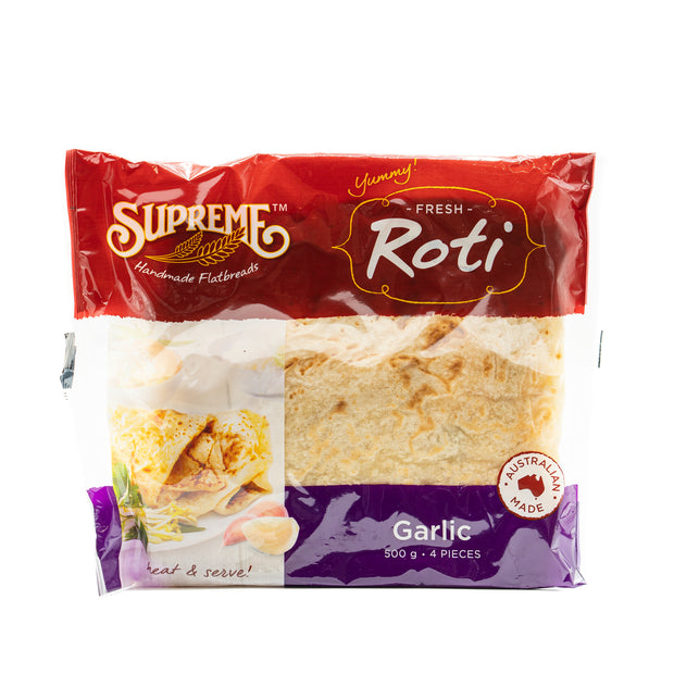 Supreme Roti Bread Garlic 500g