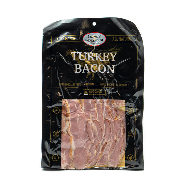 Gamze Smokehouse Turkey Bacon 200g