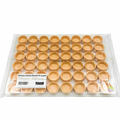 Sweet Round Tart Shells 41mm (48 pack)
