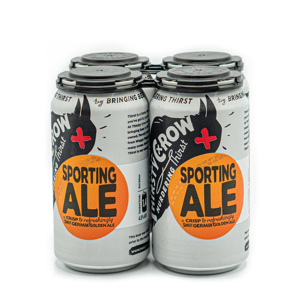 Thirsty Crow Sporting Ale 4pk
