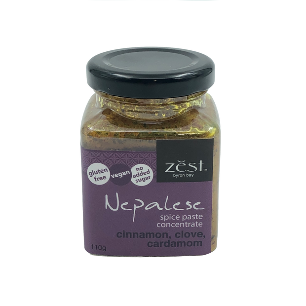 Zest Nepalese Curry Paste 110g